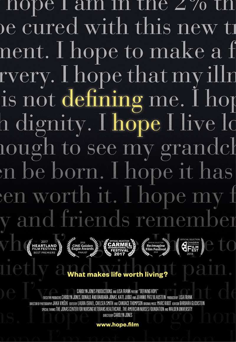 DVD and Digital - defining HOPE